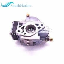 Motore fuoribordo 3303 812647T1 3303 812648 T Carburatore Assy per Mercury Marine 2 corsa 4HP 5HP Barca a Motore