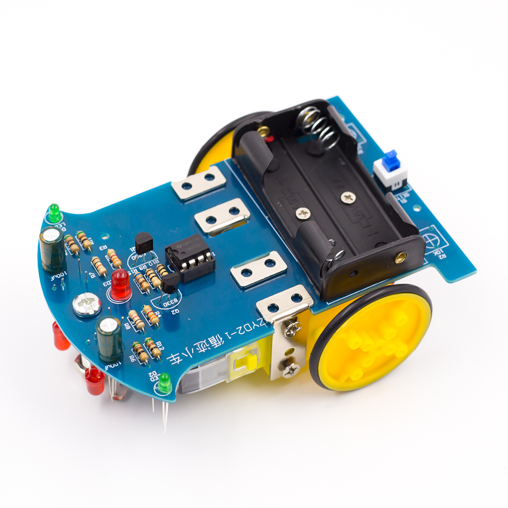 Smart Tracking Robot Car Diy Soldering Project Kit With Dc Motor Electronics Circuits Projects Electronic Kits Hobby More School Education Competition For Kids In Integrated From