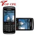 Abierto original reformado blackberry pearl 3g 9100 teléfono celular 3g del gps del envío libre