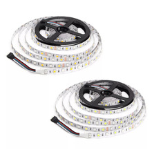 5M Led Strip RGBW RGBWW SMD 5050 IP30 Non-Waterproof LED Flexible Light for Christmas Decor DC12V led light