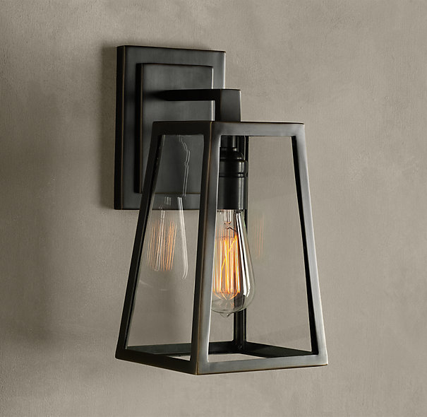 Modern vintage restaurant black iron wall sconce lamps DIY outdoor edsion decoration E27 bulb glass lampshade wall light fixtureModern vintage restaurant black iron wall sconce lamps DIY outdoor edsion decoration E27 bulb glass lampshade wall light fixture