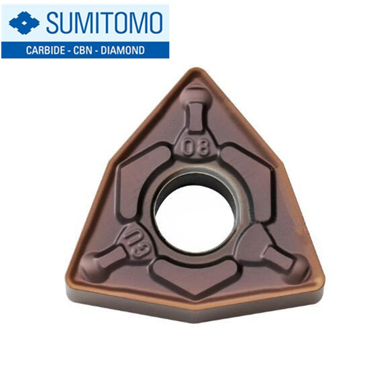 Original Sumitomo WNMG WNMG080404 WNMG080408 WNMG080404N-GU WNMG080408N-GU AC520U Carbide Inserts Lathe Cutter Turning Tool CNC