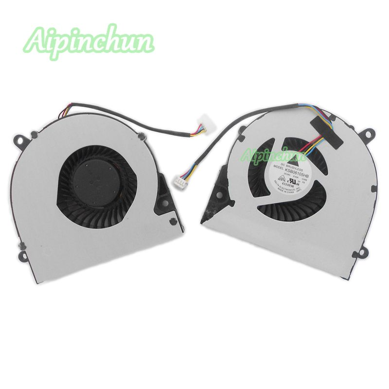 Original Laptop CPU Cooling Fan for Asus X75A X75V XJ4 X75VD X75 X75VC X75VM F75A KSB06105HB -CA56 Notebook Cooler Fan laptop cooling fan for asus pu500ca fan