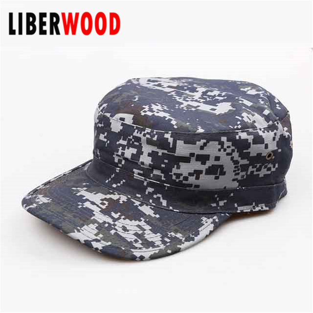 d125f1eb53d Vintage BDU ACU Digital CAMO Fatigue Distressed Cadet Patrol army Fitted Caps  Hats Woodland army Hat Army Ranger CAP