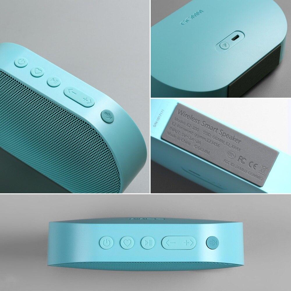 GGMM E2 haut-parleur Bluetooth portable Haut-Parleur WIFI haut-parleur sans fil En Plein Air Altavoz Bluetooth Soundbar caisse de résonance Avec Amazon Alexa - 5