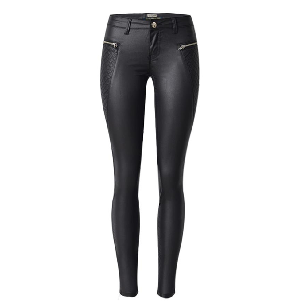 New Fashion Elastic Cotton Pencil   Pants   woman   Pants   &   Capris   for women trousers Skinny legging jean pantalon femme pu