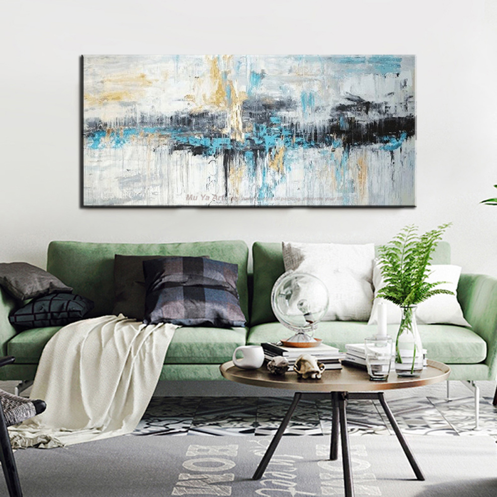 Abstract art painting modern wall art canvas pictures large wall ...