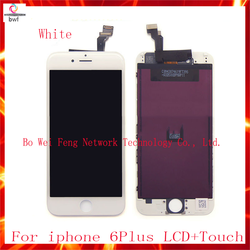 50pcs/lot EMS DHL High Quality LCD For iPhone 6plus 5.5 Screen Display With Touch Screen Digitizer Assembly Free shipping 50pcs lot ems dhl high quality lcd for