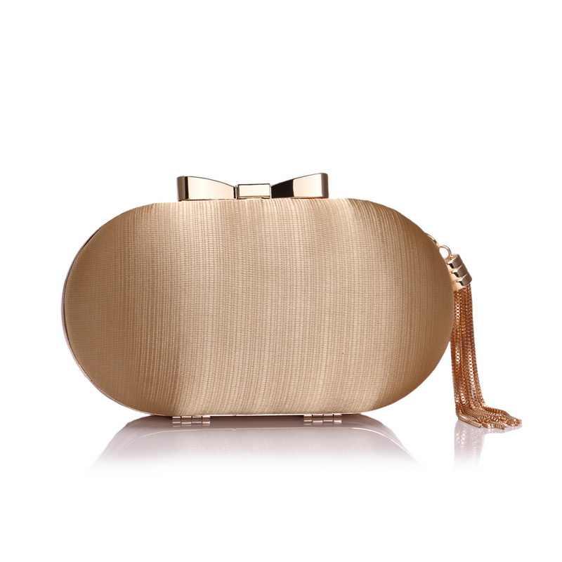 SEKUSA женская сумка через плечо, с металлическим бантом, на цепочке