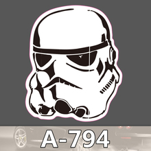 A-794 Star Wars Sturm Soldat Wasserdichte Kühle DIY Aufkleber Für Laptop Gepäck Skateboard Kühlschrank Auto Graffiti Cartoon Aufkleber