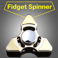 Rainbow Brass Hand Spinner Fidget Spinner Stress Cube Hand Spinners Focus And ADHD EDC Anti Stress