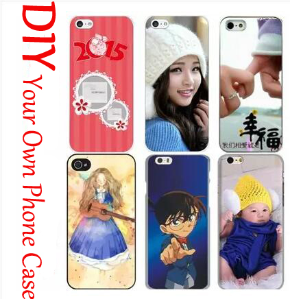 customized fashion painting photo case on your mobile phone print