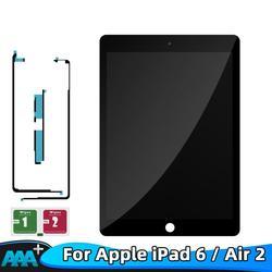 9,7 LCD para Apple iPad 6 Air 2 A1567 A1566 100% AAA + grado LCD pantalla táctil digitalizador la Asamblea de reemplazo de partes