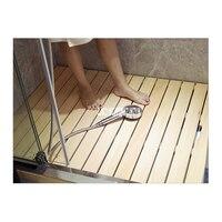 001 Bathroom Wood Strip Floor Doormat Bath Wood Non Slip Mold Resistant Mat Shower Mat Bamboo Floor