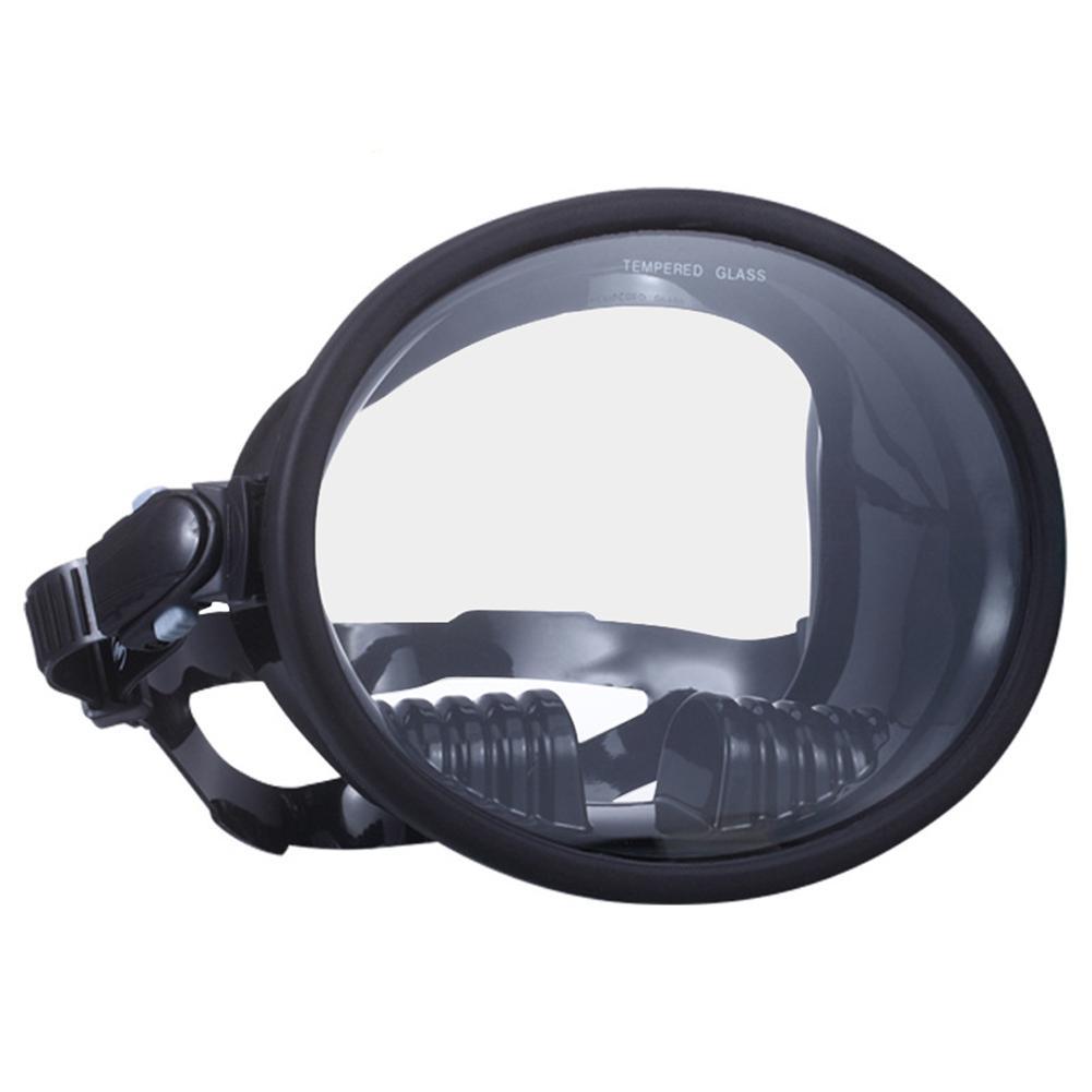 Mounchain Wide View Scuba Diving Mask Waterproof Anti-fog Underwater Hunting Snorkeling Spearfishing Fishing Full Diving Mask