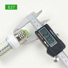 Super bright E27 E14 220V LED lamp 2835 SMD 126 LEDs Spotlight bulb Replace Incandescent Bulbs or Halogen Bulbs White / Warm