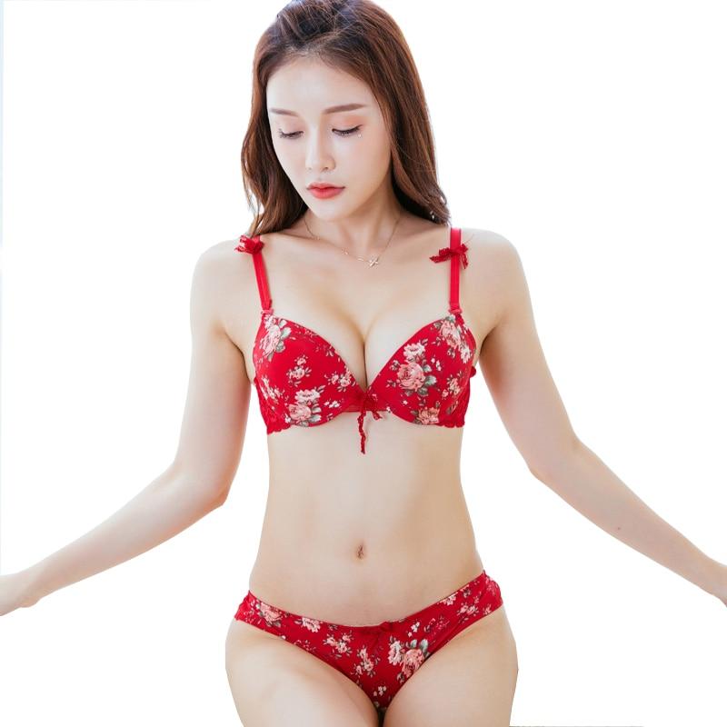 Mingmo Sexy Panties And Bra Sets 2018 Japanese Girls -9346