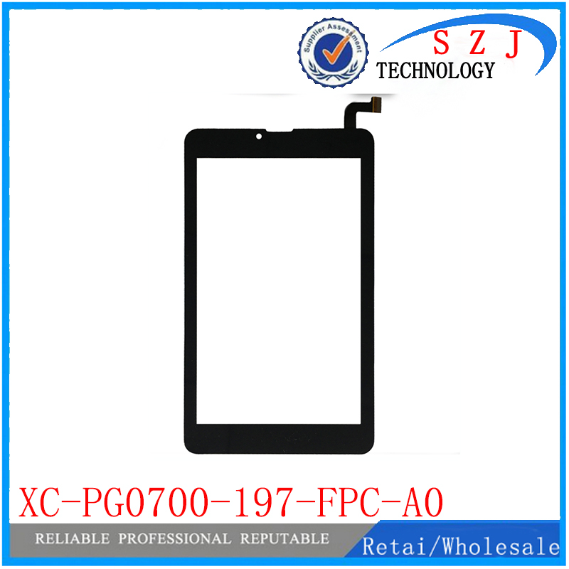 New 7'' inch touch screen for XC-PG0700-197-FPC-A0 touch panel Tablet PC digitizer sensor Free Shipping 10pcs/lot new replacement capacitive touch screen digitizer panel sensor for 10 1 inch tablet vtcp101a79 fpc 1 0 free shipping