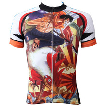2016 new arrival anime One Piece Luffy Chopper cycling top bicycle gear fighting chicken comic cycling clothing
