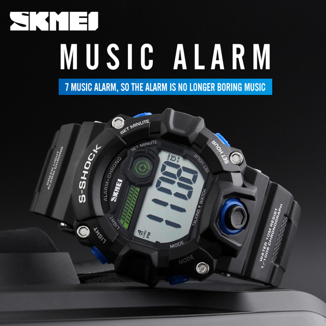New Digital Wristwatches LED Display Sport Military Watch Relogio Masculino Waterproof Outdoor Activities Watches Men 2016 SKMEI