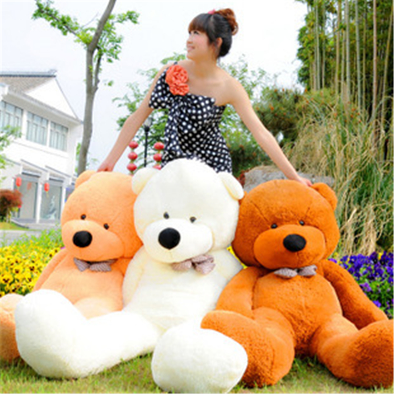 Kawaii 80cm Giant Teddy Bear Plush Stuffed Brinquedos Baby Gift Girls Toys Wedding And Birthday Party Decoration Big Ted fancytrader biggest in the world pluch bear toys real jumbo 134 340cm huge giant plush stuffed bear 2 sizes ft90451