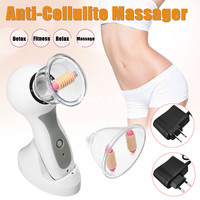 110V US / 220V EU Body Vacuum 17 Deep Massage Radiant Complexion Skin Anti Cellulite Massage Device Therapy Treatment Kit