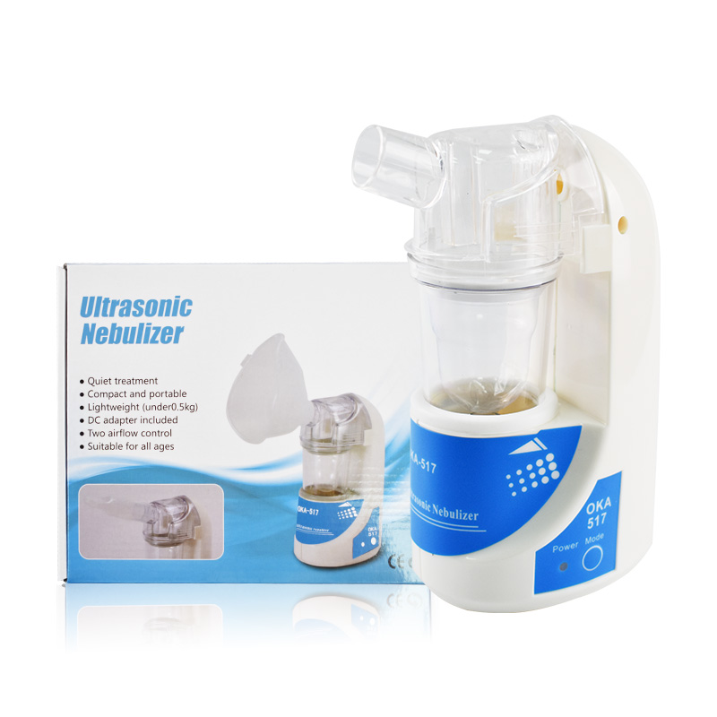 Portable ultrasonic inhaler nebulizer Household Health Care Adult Kid Ultrasonic Personal Atomizer Machine with cup & mouthpiece nicorette coated gum 2mg 100 pieces fresh mint personal healthcare health care