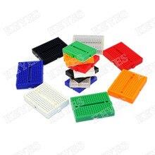Бесплатная доставка! 7 ШТ. НСБ-170 Мини Solderless Прототип Эксперимент Тест Макет для arduino (7 видов цветов/набор)