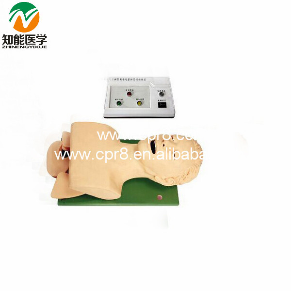 Electronic Airway Intubation Model (With Teeth Compression Alarm Device) BIX-J5S  W064 iso economic newborn baby intubation training model intubation mannequin