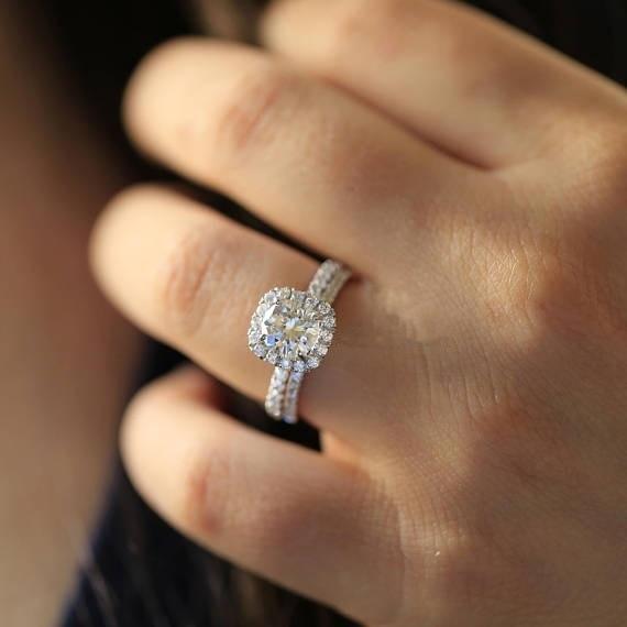 HTB1CR5 XdfvK1RjSspoq6zfNpXaN Real 925 Sterling Silver Diamond Close Rings set for Women Zircon Masonry Stone Set Gemstone Silver Jewelry Gemstone S925 ring