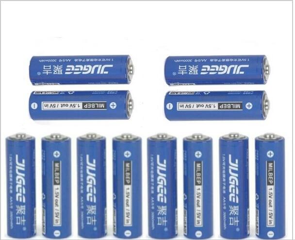 1.5 v AA Lifepo4 Lithium ionen Batteries 12pcs 14500 JUGEE 3000mWh Rechargeable Li-ion Li-polymer Li-Po Battery apply Toys, etc