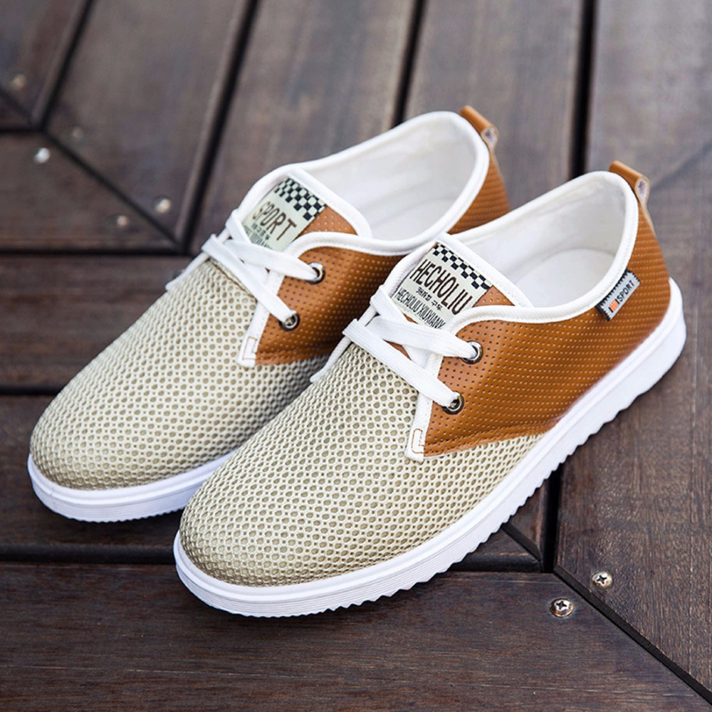 2017 Hot Sale Men Summer Shoes Breathable Male Casual Shoes Fashion Chaussure Homme Soft Zapatos Hombre Summer Men Cool Shoes 2016 men shoes summer breathable male casual shoes fashion chaussure homme soft zapatos hombre summer flats men shoes