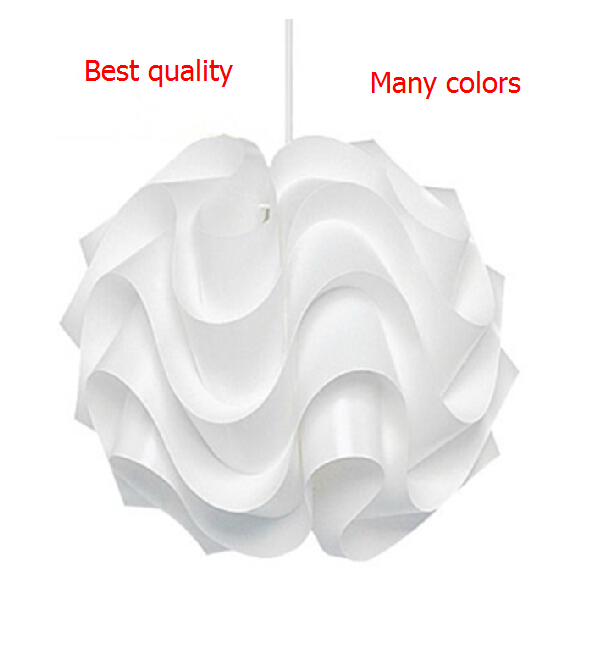 New Modern Le Klint 172 Pendant Lights White Plastic Lampshade PVC Pandent Lighting 430mm Lamp Lighting Wave Lustres De Teto E27
