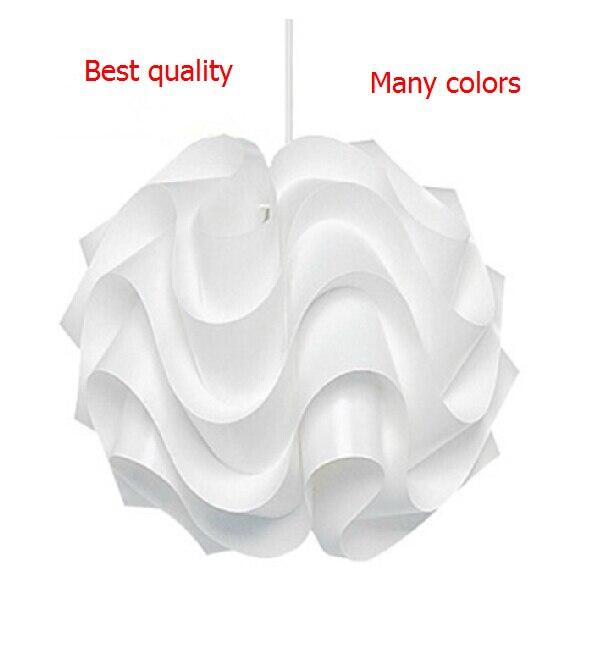 Nouveau moderne Le Klint 172 pendentif lumières blanc en plastique abat-jour PVC pendentif éclairage 430mm lampe éclairage vague Lustres De Teto E27