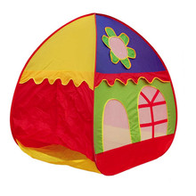 Portable Sunflower Kids Toy Tent Children Outdoor Fun Hot Toys Baby Foldable Independent House Indoor and Outdoor Play Castle