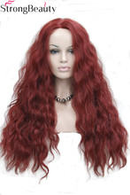 Strong Beauty Synthetic Wave Lace Front Wigs