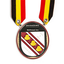 custom enamel medal low price metal Medal factory silver