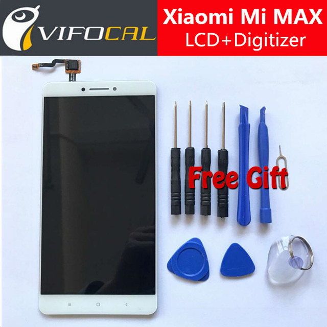 Para xiaomi mi max display lcd + de tela de toque 100% nova acessórios de substituição do conjunto digitador para para xiaomi mi max pro prime