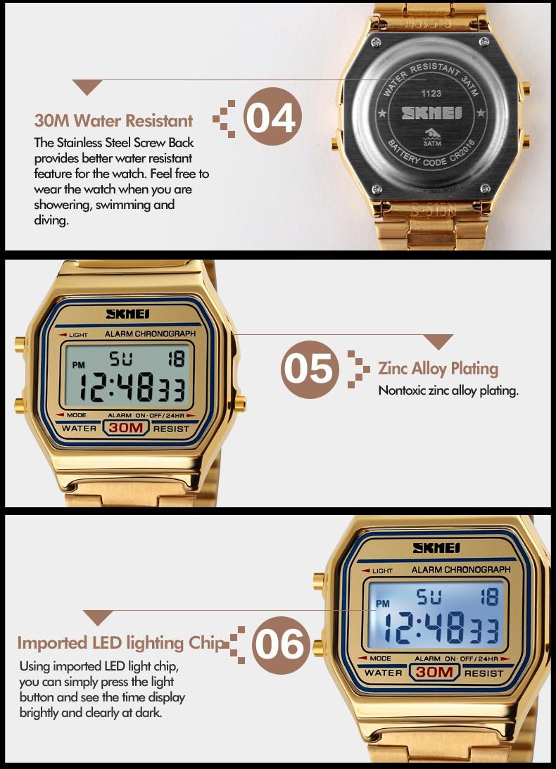 f6e97e0c748 New Fashion ouro prata Relógio Casal homens as mulheres se vestem de ...
