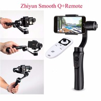 Zhiyun Smooth Q Handheld Gimbal Stabilizer Remote For Smartphone Action Cameras 3 Axis Handheld Gimbals For