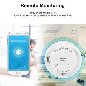Image 3 - Wifi Rookmelder Smart Fire Alarm Sensor Draadloze Beveiliging Systeem Smart Leven Tuya APP Controle Smart Home