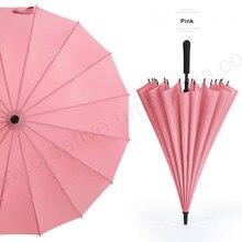 102cm auto open 16 metal ribs windproof flexible 35T  solid pongee umbrella business mini golf parasols