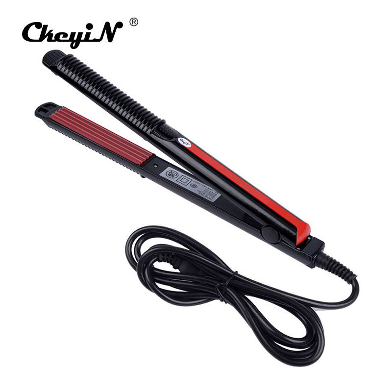 Electric Hair Straightener Hair Iron Corn Plate Electronic Temperature Control  Hair Straighteners Tools Corrugated Iron Styling electric iron ladomir 64k