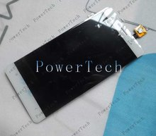 Original Oukitel K4000 Front Panel Touch Glass Lens Digitizer Screen with LCD display Free Shipping