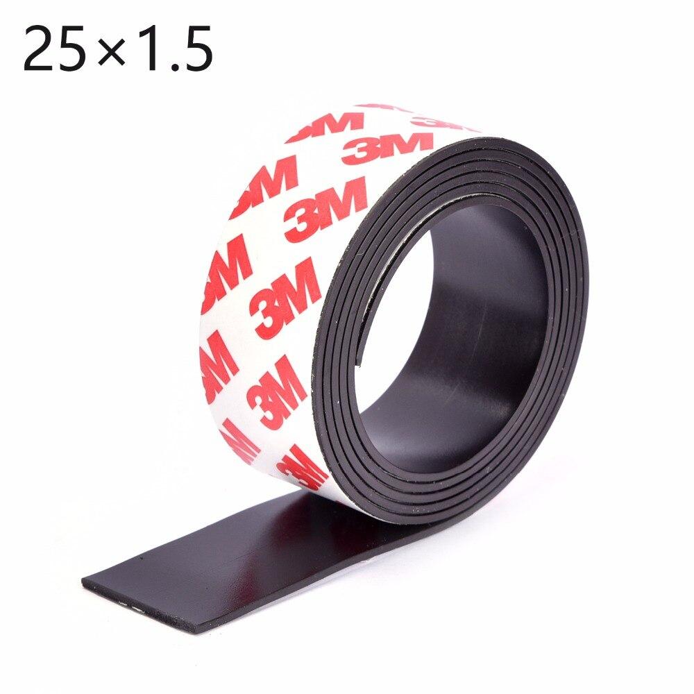 ᐂAlta calidad 5 Metro magnética flexible autoadhesiva 3 M imán de ...