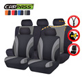 (Car-Pass)  New 11PCS  Classics Sport Style Car Seat Cover Universal Fit Most Brand Car Covers 4 Color Car Seat Protector