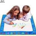 Moda Brinquedos Das Crianças Das Crianças da Educação Placa Mat Desenho Água Caneta Pintura Placa de Esteira MG849 Brinquedo Da Menina do Menino Frete Grátis