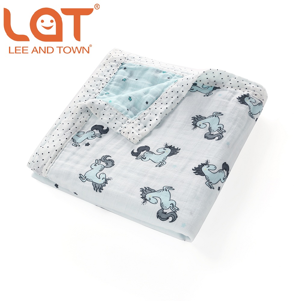 LAT Baby Blankets 2 Layer Newborn Soft Muslin Cotton Infant Swaddle Envelope Stroller Wrap For Newborn Baby Bedding Blankets