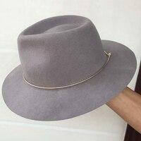 Heart Shape Bowler Hat Winter Fashion 100 Australia Wool Trilby Fedora Hats Billycock Hat For Women