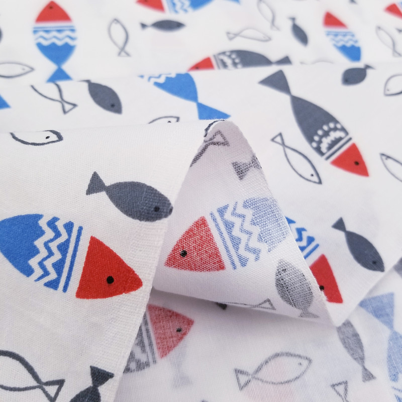 Meter Cotton Twill Fabric Baby Cotton Quiliting Cloth for DIY Sewing Bed Sheet Dress making cotton fabric in Fabric from Home Garden